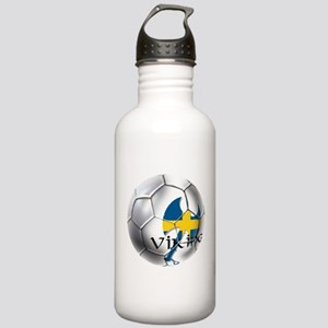Sverige Viking Soccer Stainless Water Bottle 1.0L