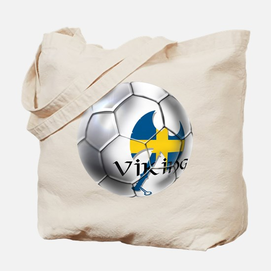 Sverige Viking Soccer Tote Bag