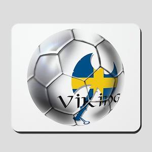 Sverige Viking Soccer Mousepad