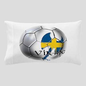 Sverige Viking Soccer Pillow Case