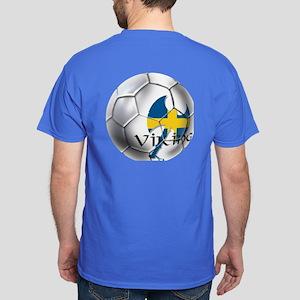 Swedish Soccer Ball Dark T-Shirt