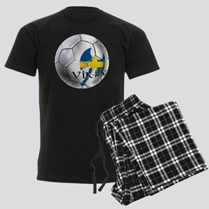 Swedish Soccer Ball Men's Dark Pajamas