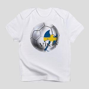 Swedish Soccer Ball Infant T-Shirt