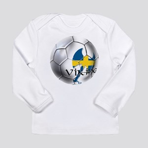 Swedish Soccer Ball Long Sleeve Infant T-Shirt