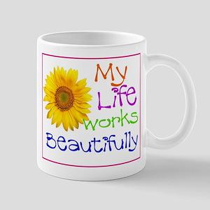 My Life Works Mug