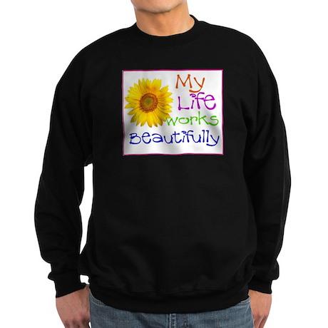 My Life Works Sweatshirt (dark)