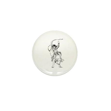 Bull rider Mini Button (100 pack)