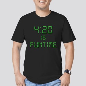 4:20 is Funtime Men's Fitted T-Shirt (dark)