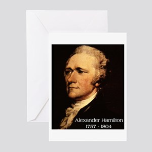 Alexander Hamilton Greeting Cards