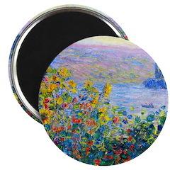 Monet - Flower Beds Magnet