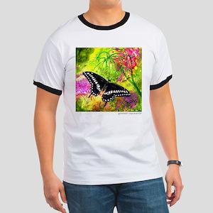 Swallowtail Butterfly Design by GG Burns T-Shirt