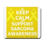 Keep Calm Sarcoma Awareness Mousepad