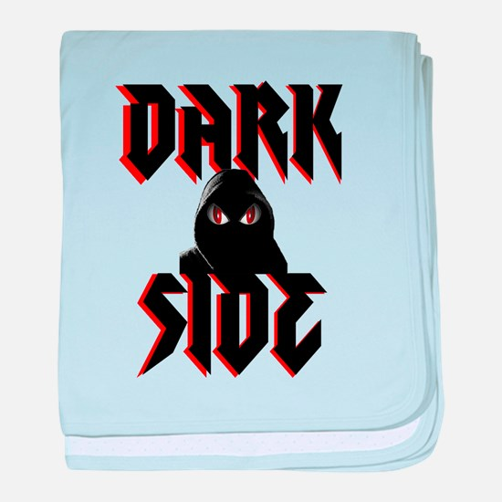 Dark Side baby blanket