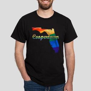 Coopertown, Florida, Gay Pride, Dark T-Shirt
