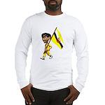 3D Brunei Long Sleeve T-Shirt