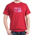 Jam Out with yer Clam Out! Black T-Shirt