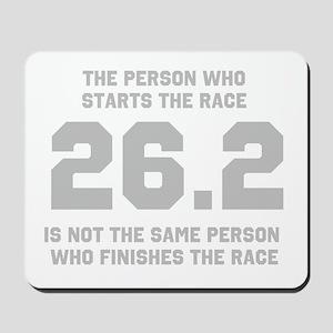 26.2 Marathon Saying Mousepad