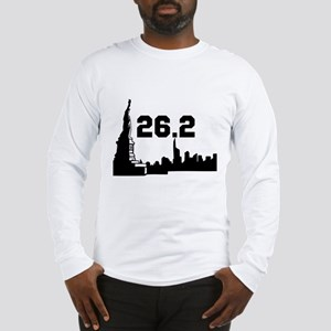 New York Marathon 26.2 Long Sleeve T-Shirt