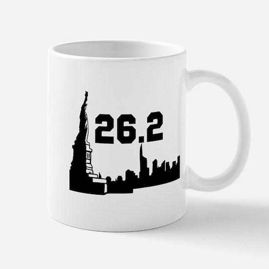 New York Marathon 26.2 Mug