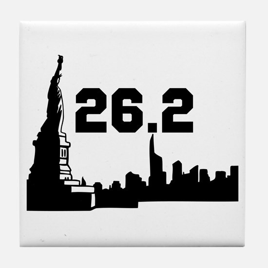 New York Marathon 26.2 Tile Coaster