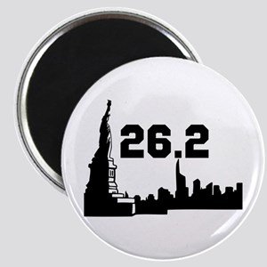 New York Marathon 26.2 Magnet