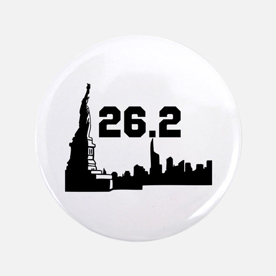 "New York Marathon 26.2 3.5"" Button (100 pack)"