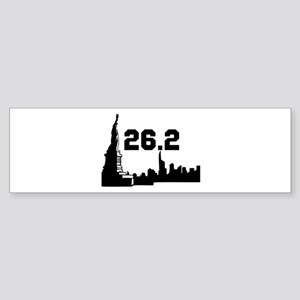 New York Marathon 26.2 Sticker (Bumper)