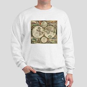 Vintage Map Sweatshirt