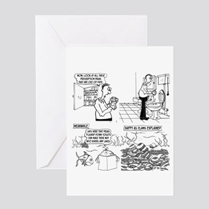 Happy As Clams Explained Greeting Card