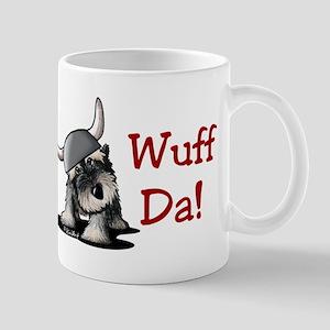 KiniArt Schnauzer Wuff Da! Mug
