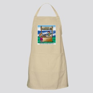 Gross National Product Is Up Apron