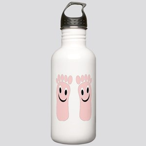 Smiling Feet Stainless Water Bottle 1.0L