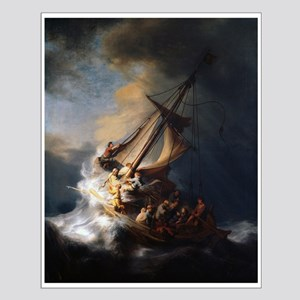 Rembrandt The Storm on the Sea of Galilee Small Po