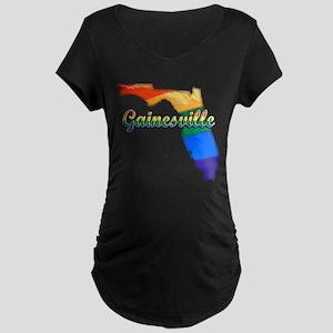 Gainesville, Florida, Gay Pride, Maternity Dark T-