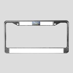 Double Rainbos License Plate Frame