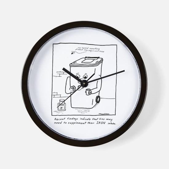 Wet Nose Wall Clock