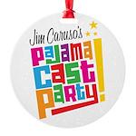 Pajama Cast Party Round Ornament