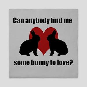 Some Bunny To Love 2 Queen Duvet