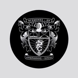 Lambda Phi Epsilon Crest Button