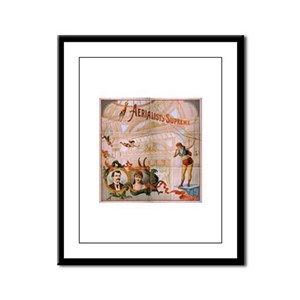 vaudeville Framed Panel Print