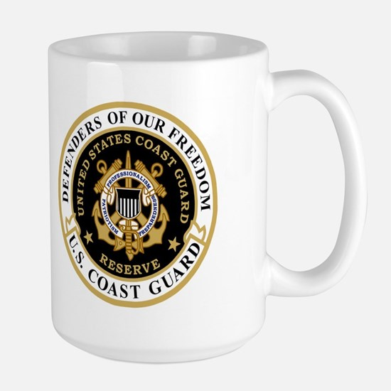 USCGR Master Chief <BR>15 Ounce Mug 2