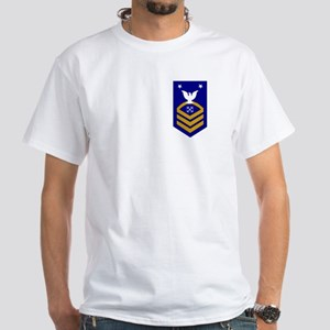 USCGR BMCM<BR> White T-Shirt
