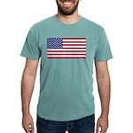 American Flag Mens Comfort Colors Shirt