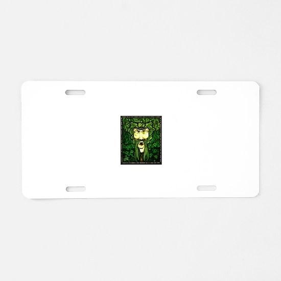 Unique Gargoyle Aluminum License Plate