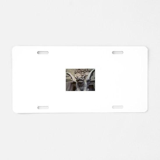 Funny Gargoyle Aluminum License Plate