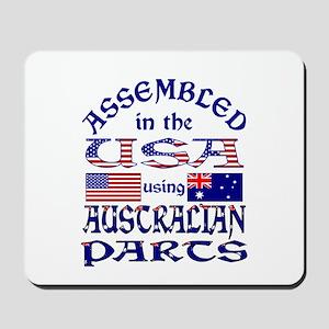 USA / Australian Parts Mousepad