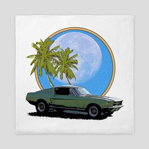 67 Mustang Queen Duvet