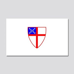 Episcopal Shield Car Magnet 20 x 12