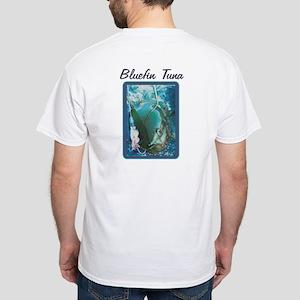Bluefin Tuna White White T-Shirt