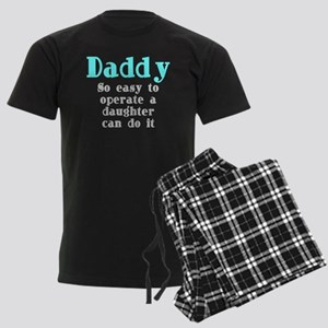 Daddy So Easy To Operate Men's Dark Pajamas